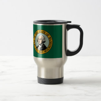Flag Of Washington Travel Mug