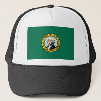 Flag Of Washington Trucker Hat