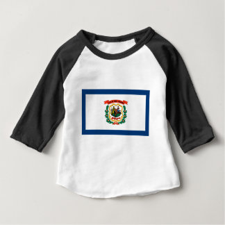 Flag Of West Virginia Baby T-Shirt