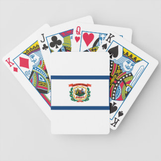 Flag Of West Virginia Bicycle Playing Cards