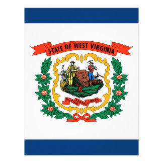 Flag Of West Virginia Letterhead