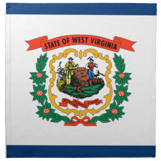 Flag Of West Virginia Napkin