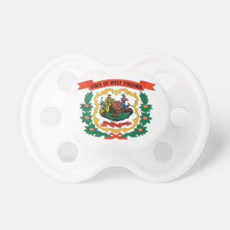 Flag Of West Virginia Pacifier