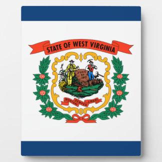 Flag Of West Virginia Plaque