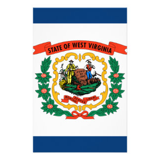 Flag Of West Virginia Stationery