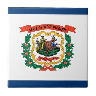 Flag Of West Virginia Tile
