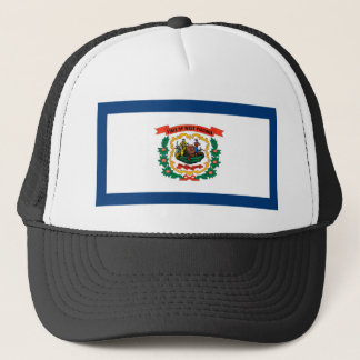 Flag Of West Virginia Trucker Hat