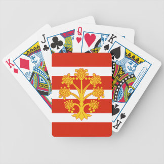 Flag of Westmorland Bicycle Playing Cards