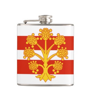 Flag of Westmorland Hip Flask