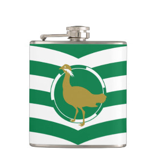 Flag of Wiltshire Hip Flask