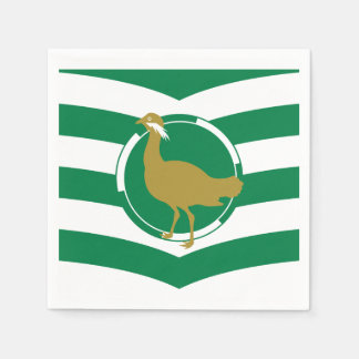 Flag of Wiltshire Paper Napkin