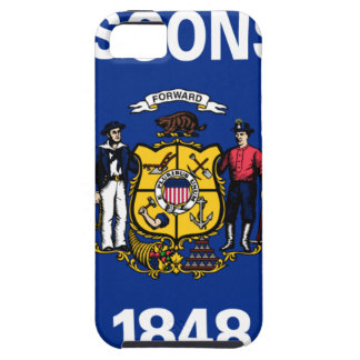 Flag Of Wisconsin iPhone 5 Cases