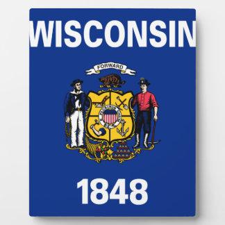 Flag Of Wisconsin Plaque