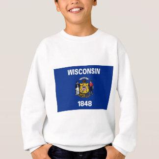 Flag Of Wisconsin Sweatshirt
