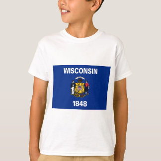 Flag Of Wisconsin T-Shirt
