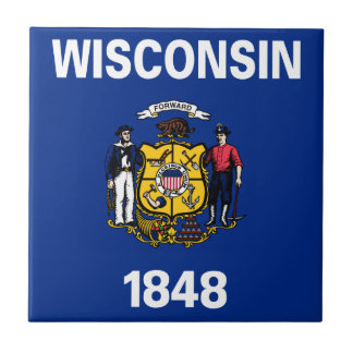 Flag Of Wisconsin Tile