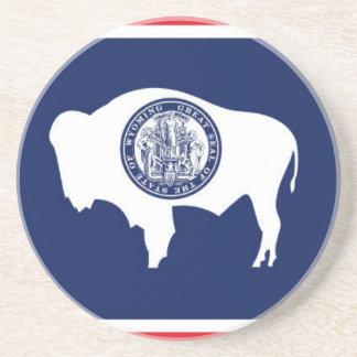 Flag Of Wyoming Coaster