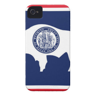 Flag Of Wyoming iPhone 4 Case