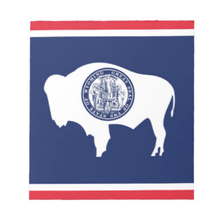 Flag Of Wyoming Notepad
