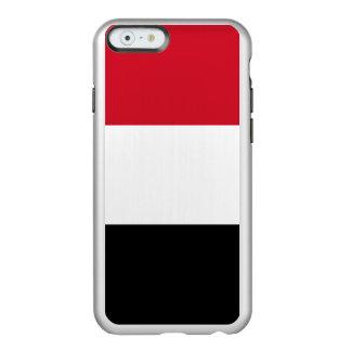 Flag of Yemen Silver iPhone Case