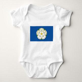 Flag of Yorkshire Baby Bodysuit