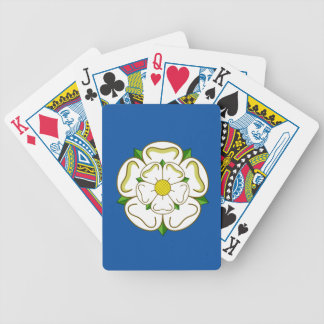 Flag of Yorkshire Bicycle Playing Cards