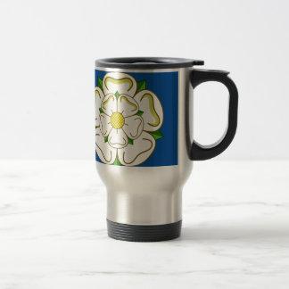 Flag of Yorkshire Travel Mug