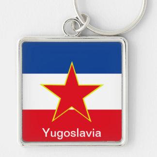Flag of Yugoslavia Keychain