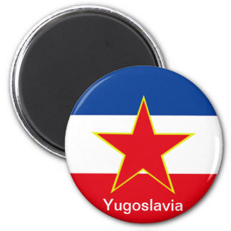 Flag of Yugoslavia Magnet