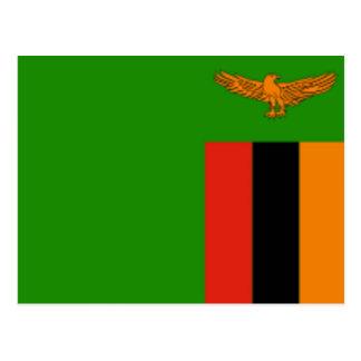 Flag of Zambia Postcard