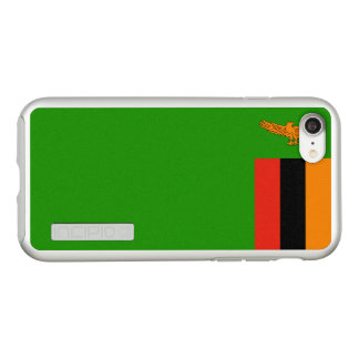 Flag of Zambia Silver iPhone Case