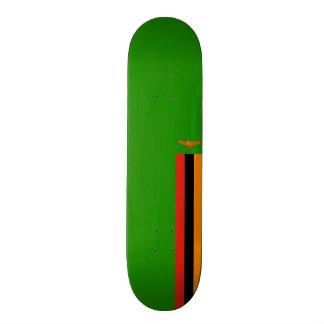 Flag of Zambia Skateboard Deck