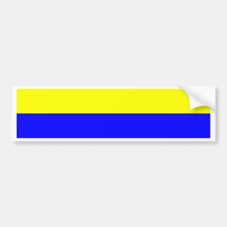 Flag of Zandvoort Bumper Sticker