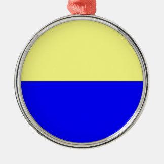 Flag of Zandvoort Metal Ornament