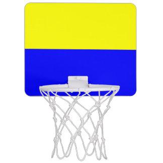 Flag of Zandvoort Mini Basketball Hoop