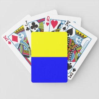 Flag of Zandvoort Poker Deck