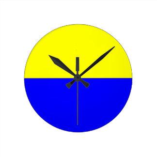 Flag of Zandvoort Round Clock