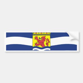 Flag of Zeeland Bumper Sticker