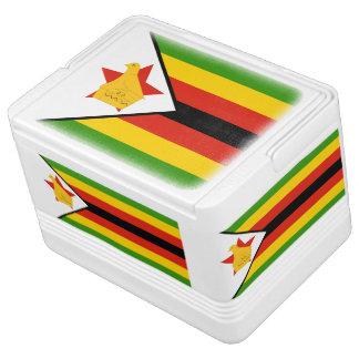 Flag of Zimbabwe Africa