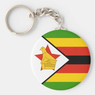 Flag of Zimbabwe Keychain