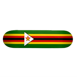 Flag of Zimbabwe Skateboard Deck