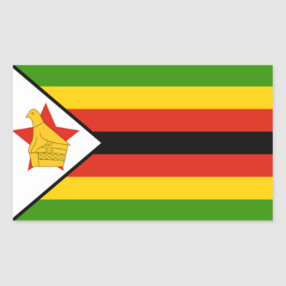 Flag of Zimbabwe Sticker