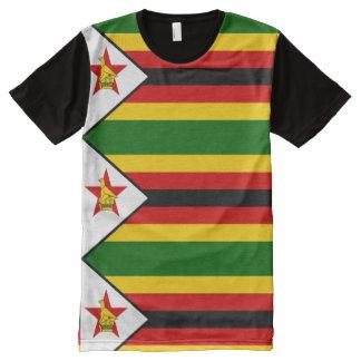 Flag of Zimbabwe - Zimbabwean - Mureza weZimbabwe All-Over-Print T-Shirt