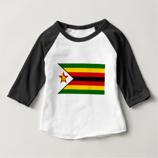 Flag of Zimbabwe - Zimbabwean - Mureza weZimbabwe Baby T-Shirt