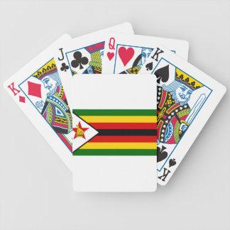 Flag of Zimbabwe - Zimbabwean - Mureza weZimbabwe Bicycle Playing Cards