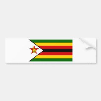 Flag of Zimbabwe - Zimbabwean - Mureza weZimbabwe Bumper Sticker