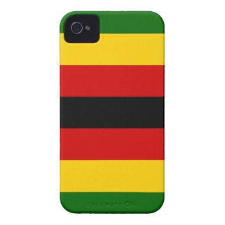 Flag of Zimbabwe - Zimbabwean - Mureza weZimbabwe iPhone 4 Cases