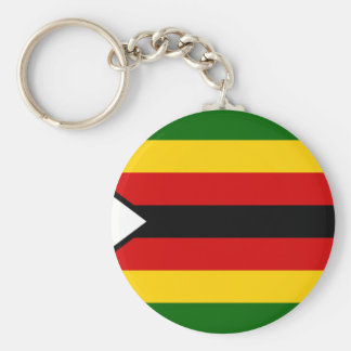 Flag of Zimbabwe - Zimbabwean - Mureza weZimbabwe Keychain