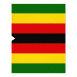 Flag of Zimbabwe - Zimbabwean - Mureza weZimbabwe Letterhead