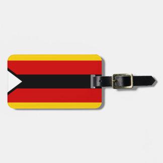 Flag of Zimbabwe - Zimbabwean - Mureza weZimbabwe Luggage Tag